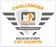 Million Cat Challenger Badge / Web Banner 225x188